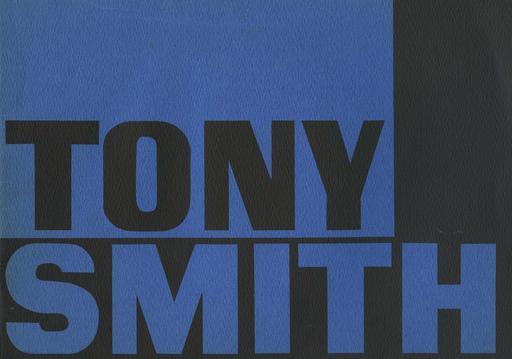 Tony Smith Two Exh Sc Cat
