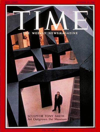 Tony Smith cover Time 13 Oct 67