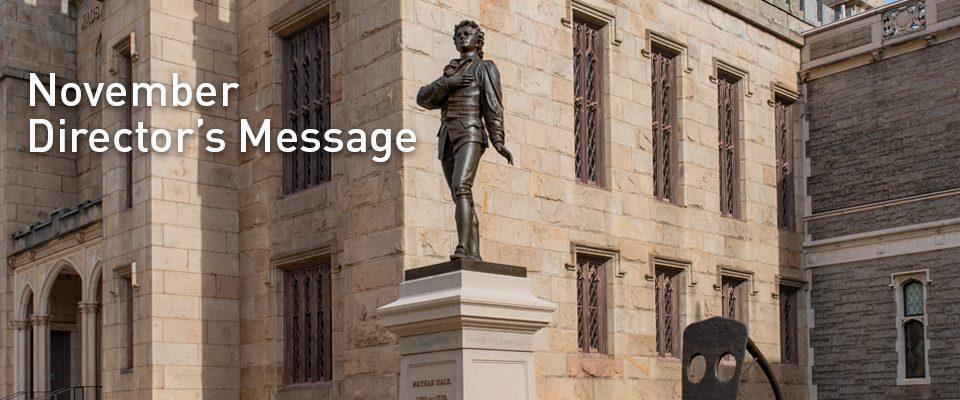 November Director's Message