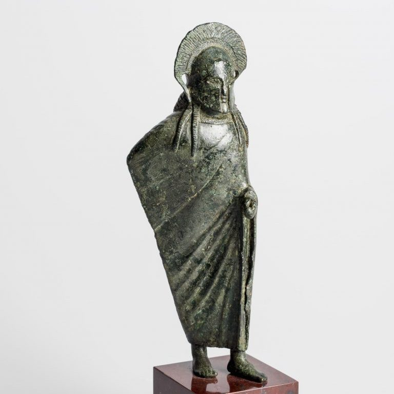 Draped Warrior, c. 510-500 BCE