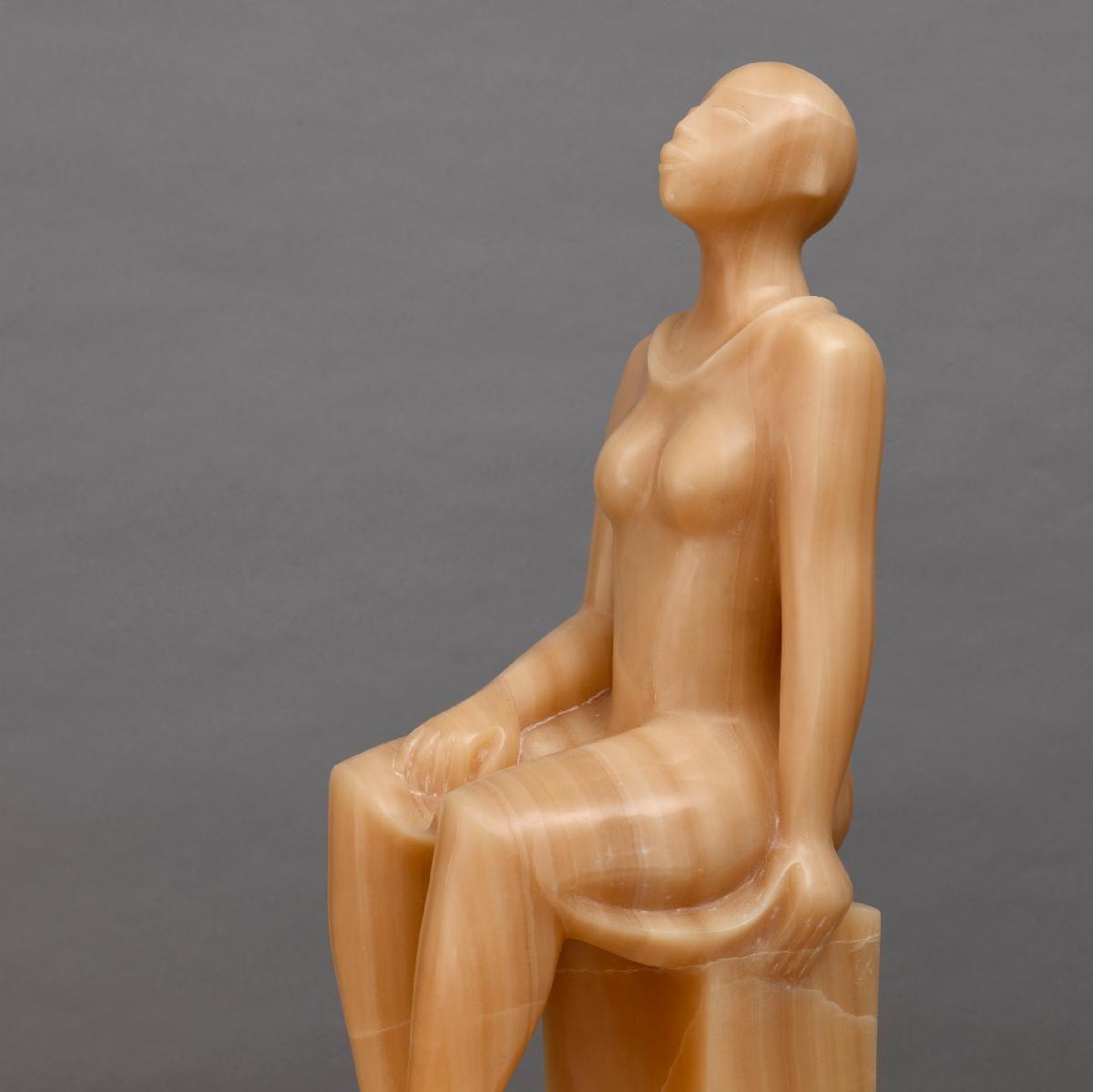 Elizabeth Catlett, Seated Woman