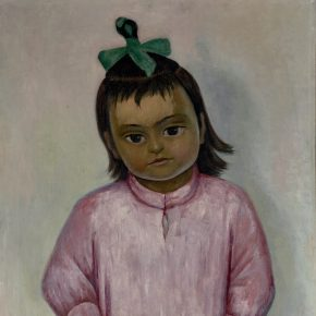 """Diego Rivera """"Young Girl with a Mask"""""""