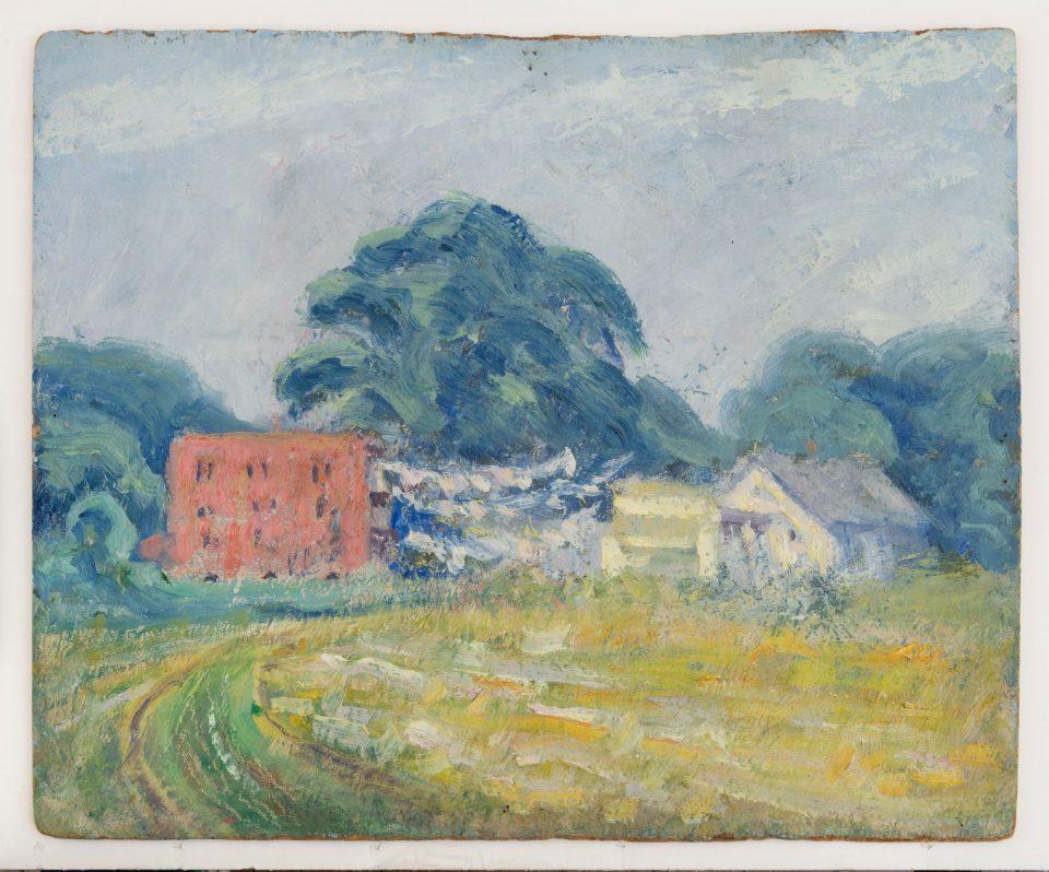 Milton Avery, East Hartford Meadows, 1919.