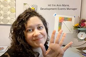 Development Coordinator Ann Marie