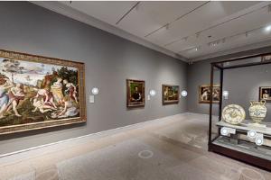 Renaissance gallery virtual tour screenshot