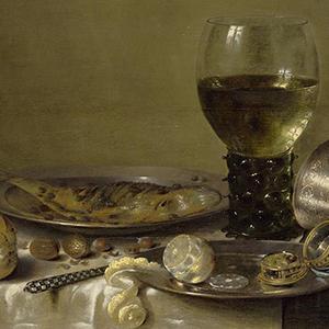 "Detail of Willem Claesz Heda, ""Still Life with Goblet"", 1631"
