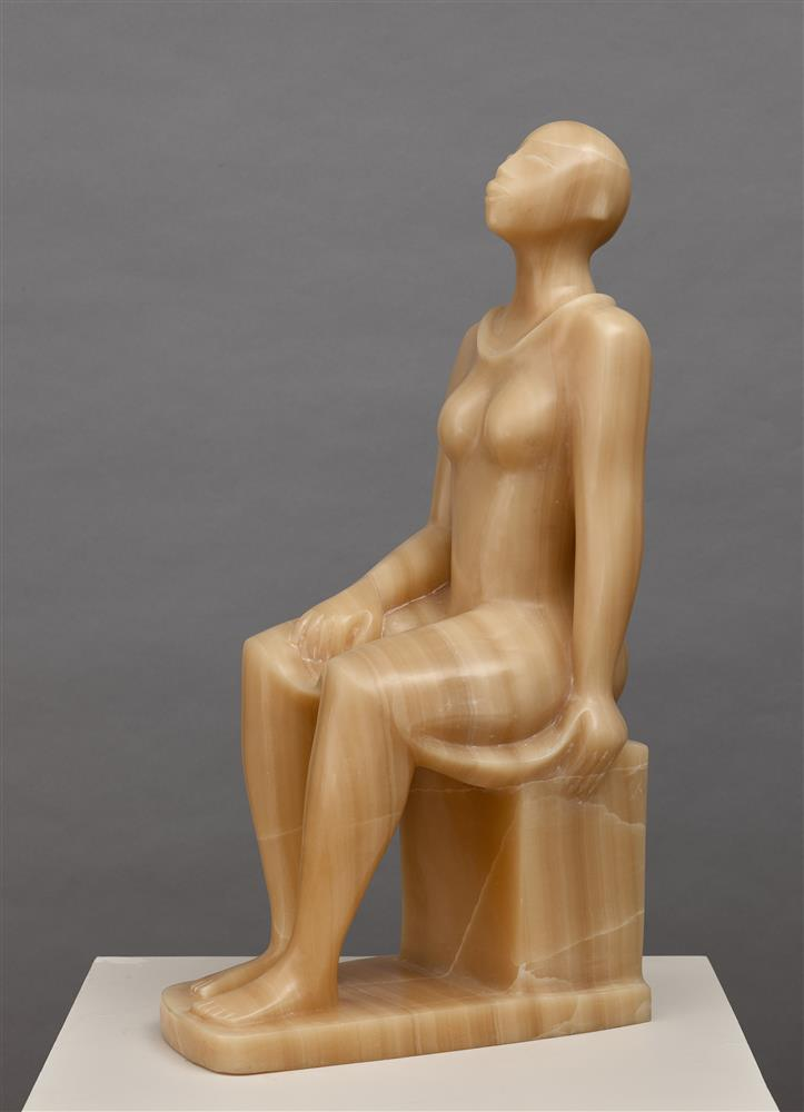 Elizabeth Catlett, Seated Woman, 1993