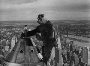 Live Music and Summer Film Series: King Kong Preceded by the Matt DeChamplain Trio, performing 1920s–30s Jazz