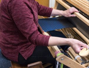 Demonstration: Weaving with the Floor Loom