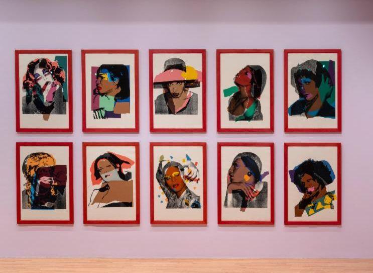 Andy Warhol (American, 1928-1987),Ladies and Gentlemen, 1975.